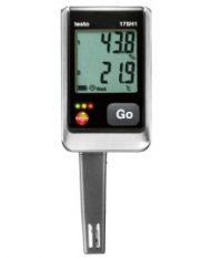 Testo 175 H1 — Логгер данных температуры и влажности с интегрированным внешним зондом