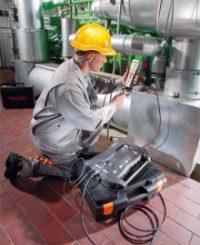 Блок анализатора Testo 350 - Анализатор дымовых газов для промышленности (0632 3510)
